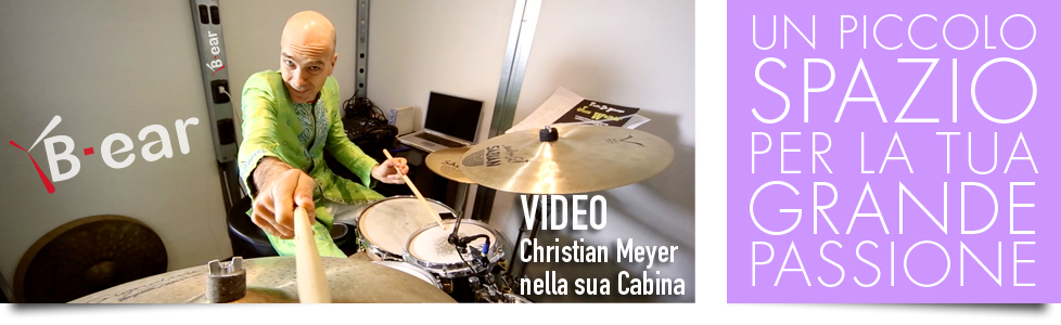 Christian Meyer - video opinioni sulla cabina acustica B-ear